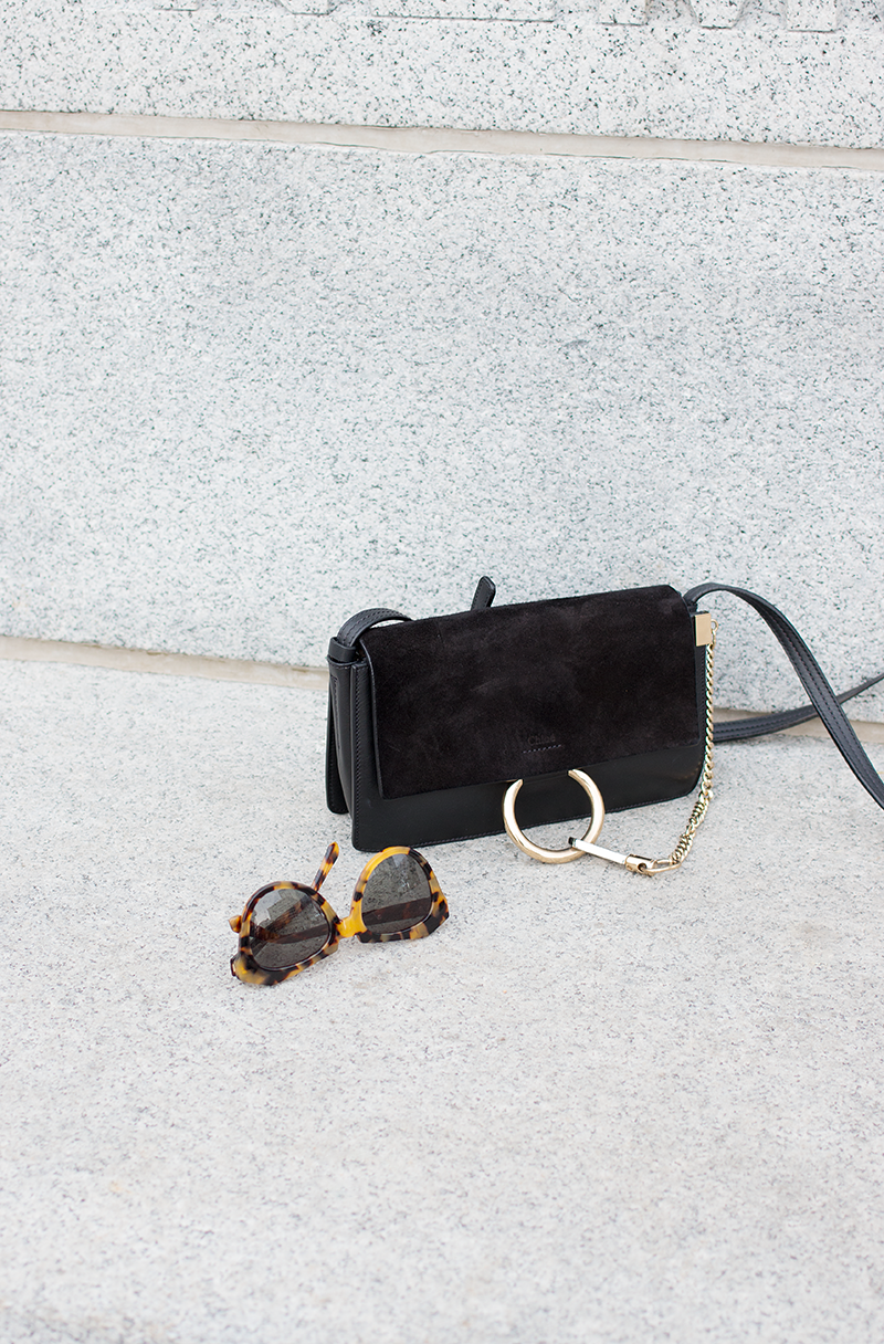 The perfect accessory — the Chloe Faye bag