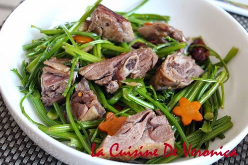 La Cuisine De Veronica 芹菜炒臘鴨腿