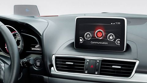 Sử dụng cảm ứng trên xe Mazda 2, Mazda 3 2015| Sử dung cảm ứng khi xe chạy Mazda All New 2015