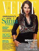 Sania Mirza on the Cover of Verve Magazine Posters
