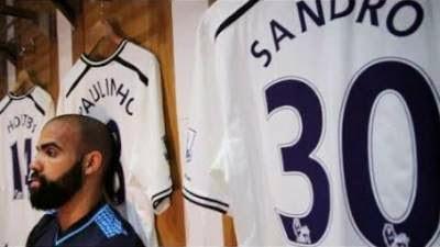 Sandro stuck at Spurs