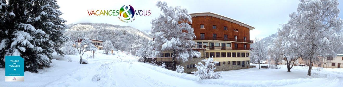 """Centre et Village de Vacances """"Les Ecrins d'Azur"""" - Pelvoux - Hautes Alpes (05)"""
