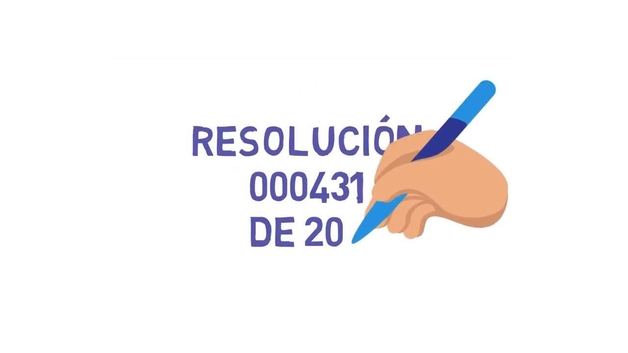 Sobre la Resolución 000431 de 2017