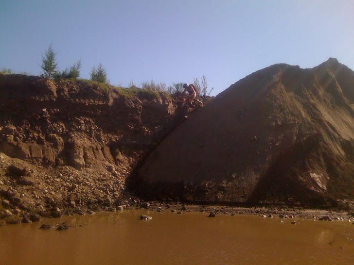 cantera entre rio de los sauces y la cruz 12-02-2012