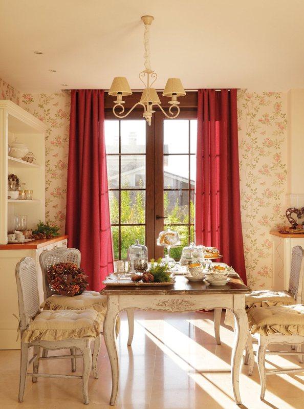 Una casa decorada de navidad delicada y sin excesos - Casas decoradas en navidad ...