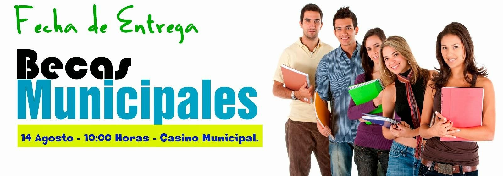 Becas Municipales 2014