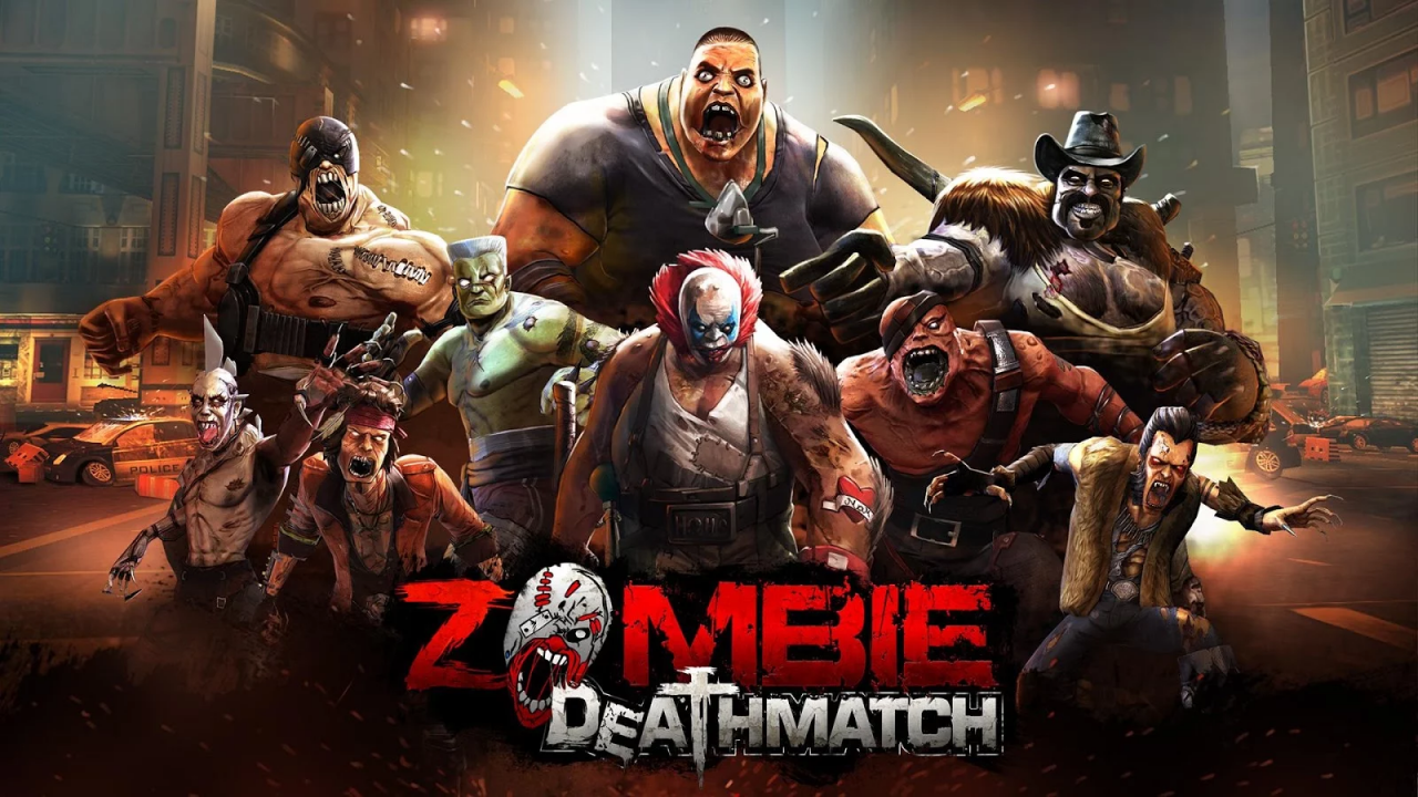 Zombie Deathmatch Gameplay IOS / Android
