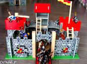 Κάστρο Camelot κόκκινο