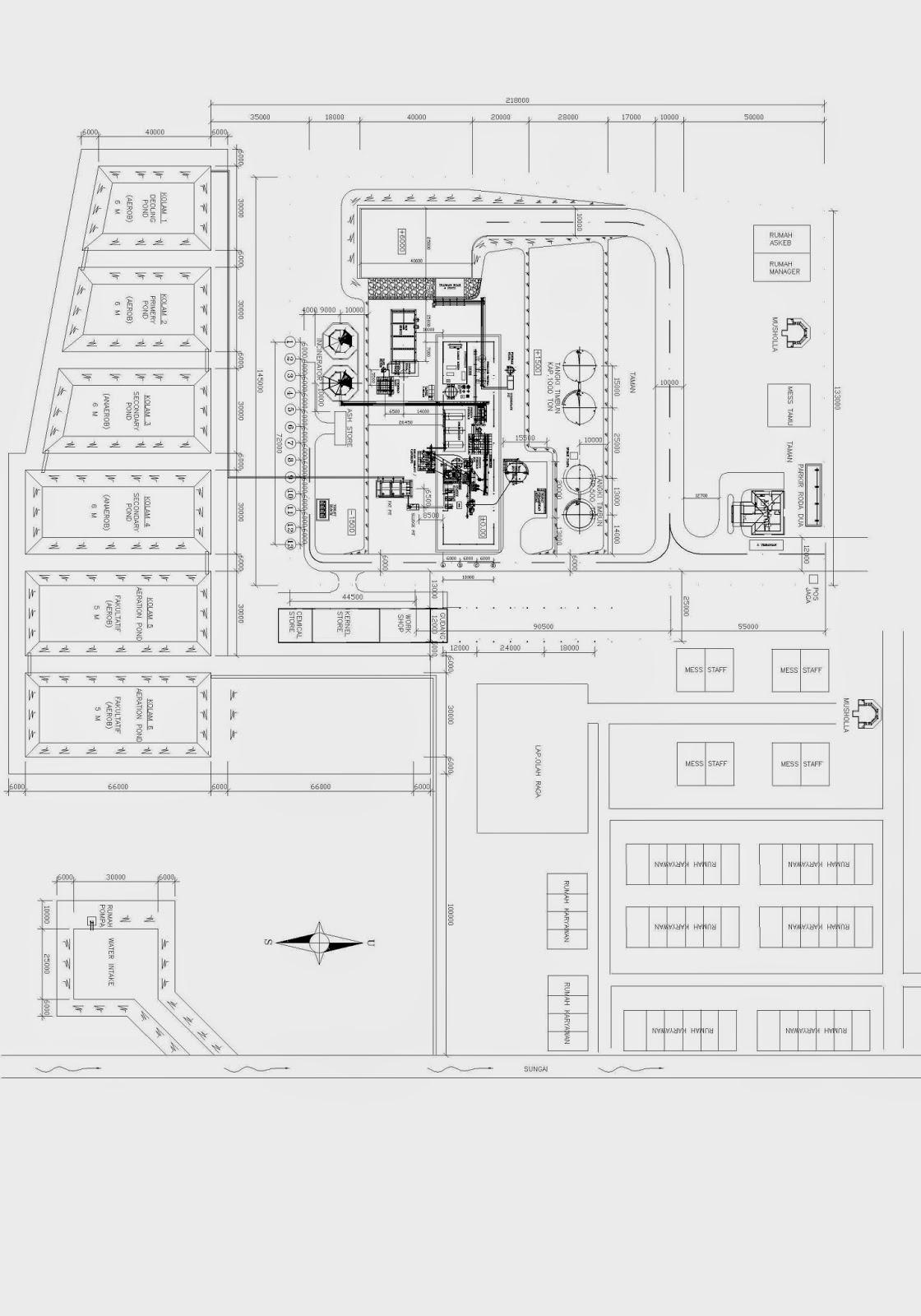 Site Plan Kelapa Sawit