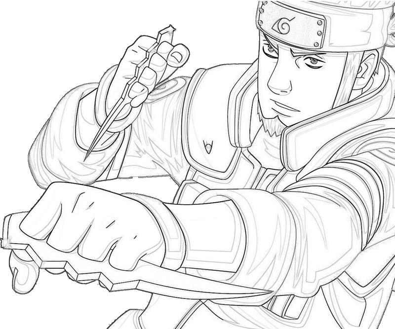 printable-naruto-asuma-smoking_coloring-pages-5