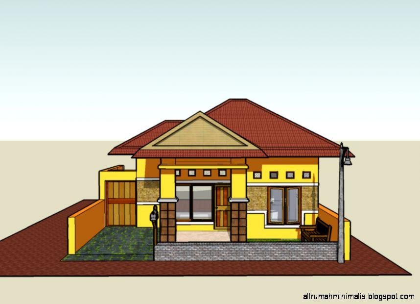 sketsa rumah sederhana design rumah minimalis