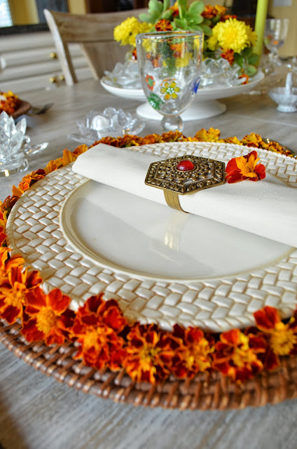 Entertaining From An Ethnic Indian Kitchen Deepawali Table