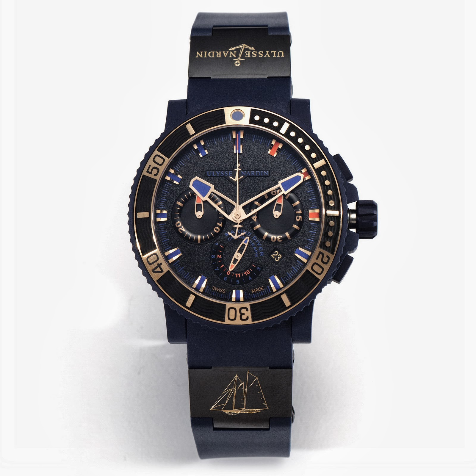 Neue Uhr : Ulysse-Nardin Schooner Chronograph - UhrForum