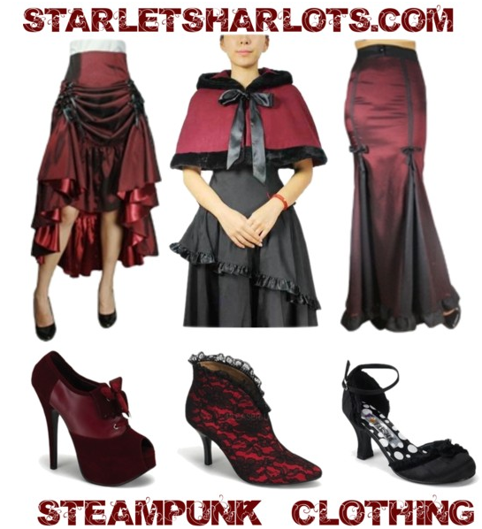 victorian plus size steampunk clothing