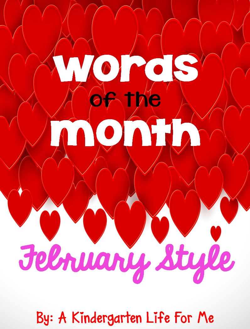 http://www.teacherspayteachers.com/Product/Words-of-the-Month-February-Style-1625825