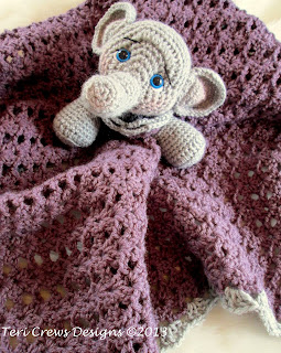 Free Baby Elephant Crochet Pattern - Look At What I Made