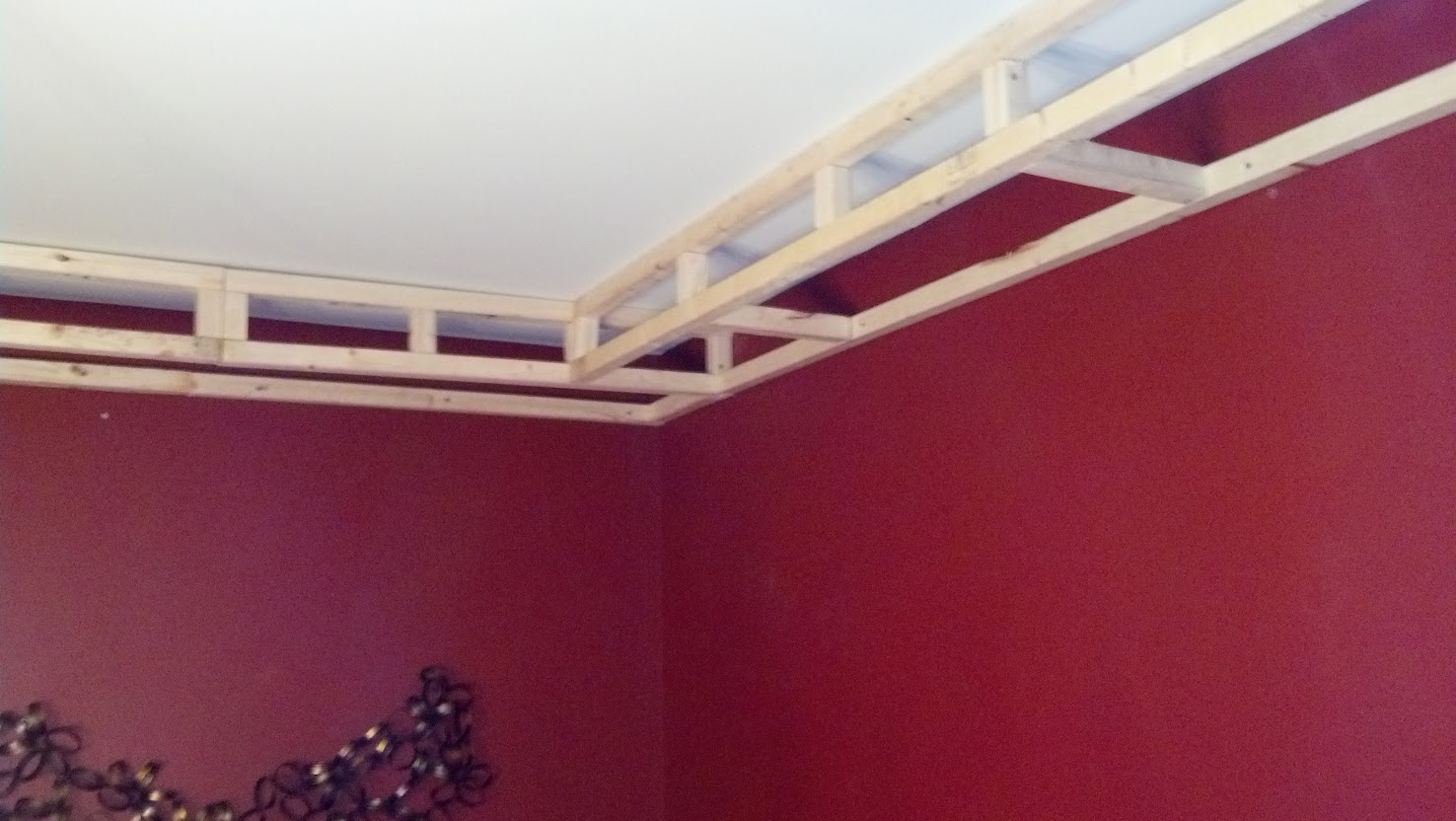 Adding Tray Ceiling: Road To The Ravenna: DIY Tray Ceiling