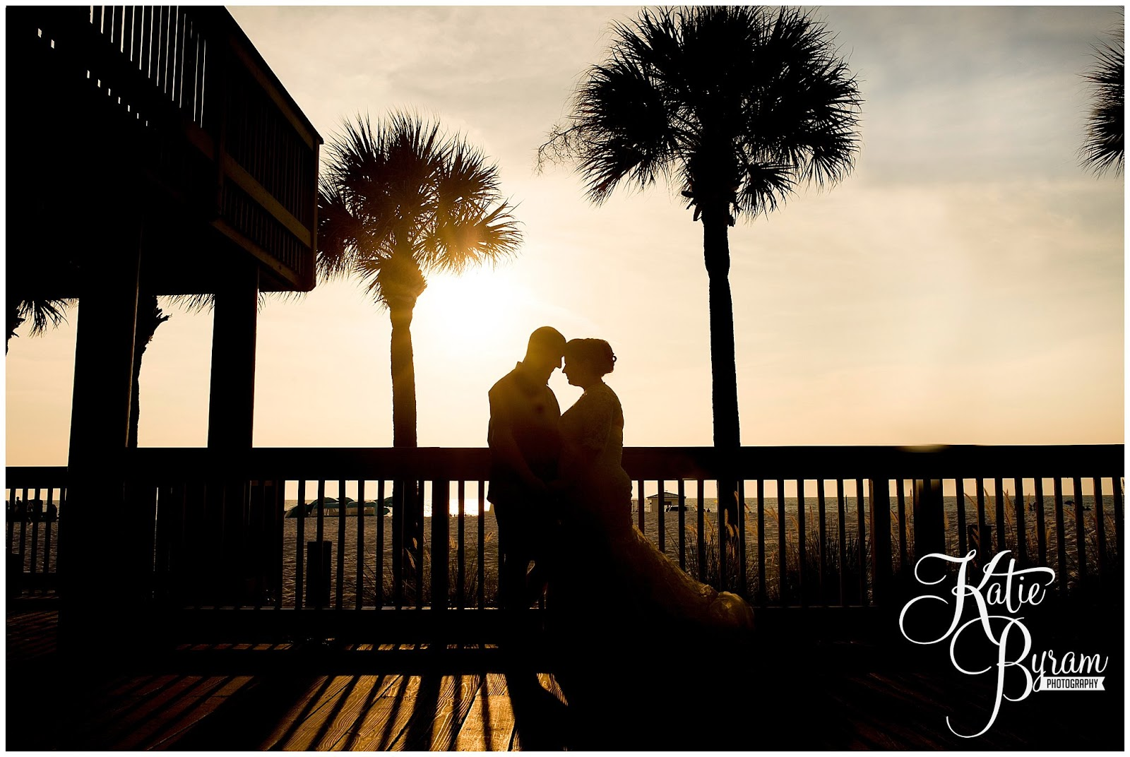 bride and groom palm trees, nautical wedding, beach wedding theme, destination wedding, clearwater beach wedding, hilton clearwater beach wedding, katie byram photography, florida wedding