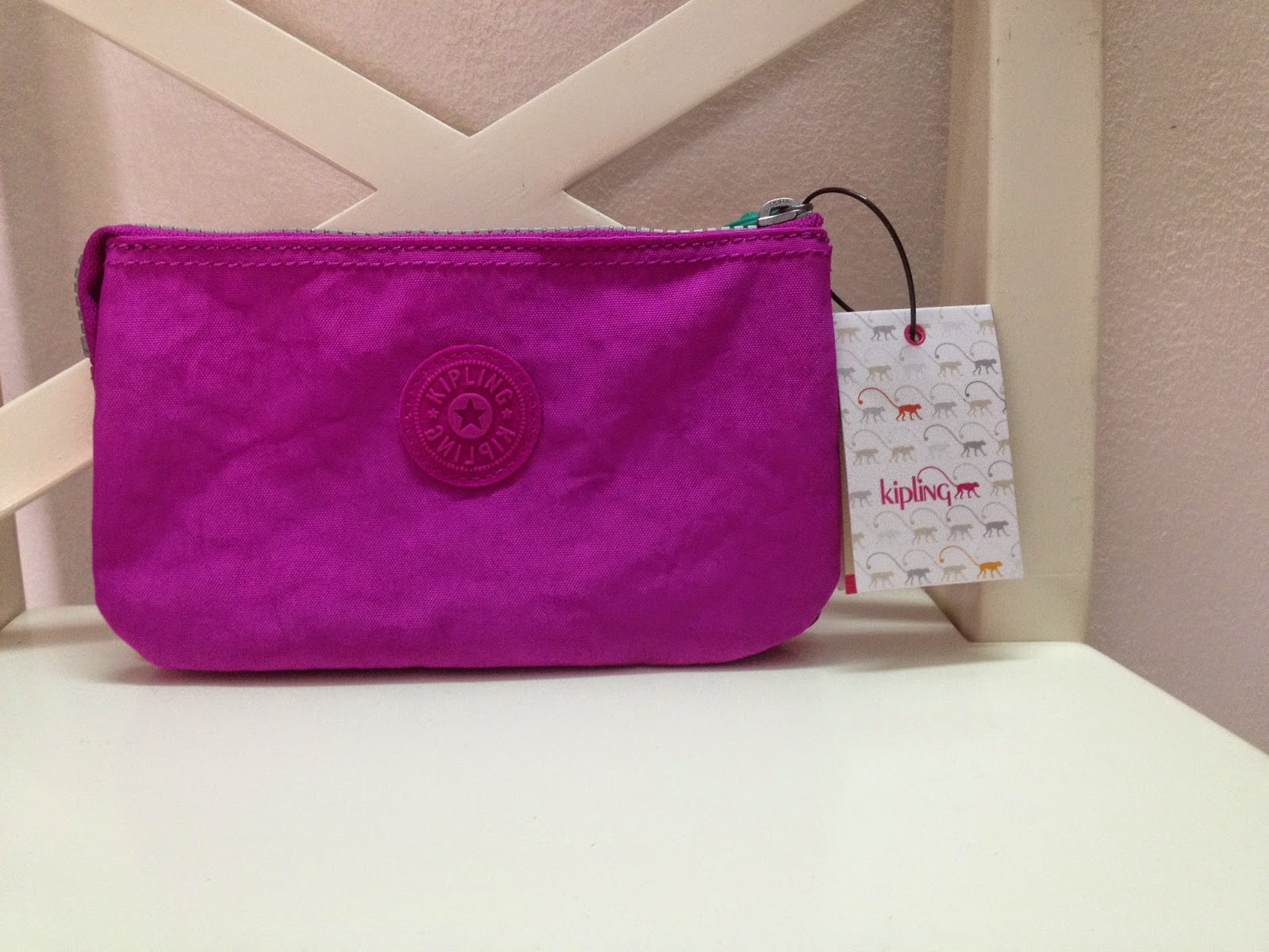 Kipling Creativity Letter Large Pouch