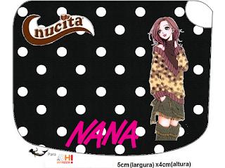 Etiquetas Nucita de Nana para imprimir gratis.