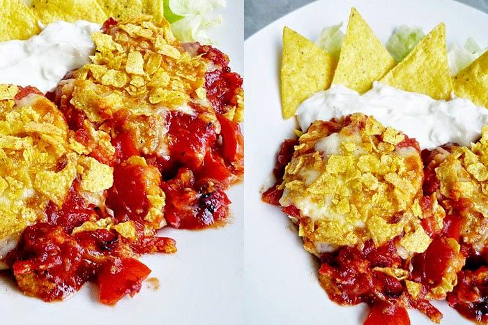 Mexican baked fish [Fisch auf mexikanischer Art]