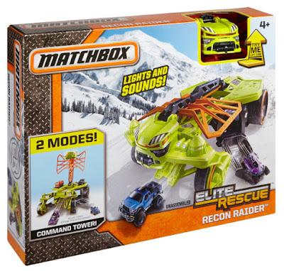 TOYS : JUGUETES - MATCHBOX : Elite Rescue  Recon Raider | Vehículo - Vehicle  Producto Oficial 2015 | Mattel DKR43 | A partir de 4 años  Comprar en Amazon España & buy Amazon USA