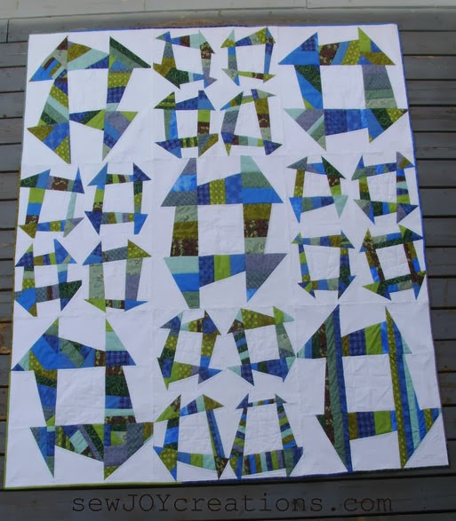 Liberated Churn Dash QUILT