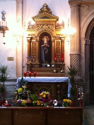 Altar of Santa Rita - Barcelona Sights Blog
