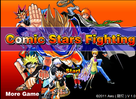 Comic Stars Fighting Games 3