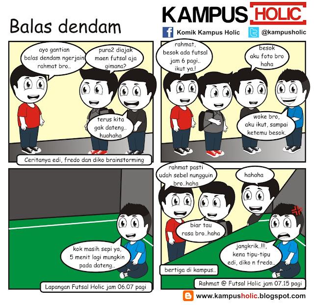 #096 Balas Dendam ala mahasiswa