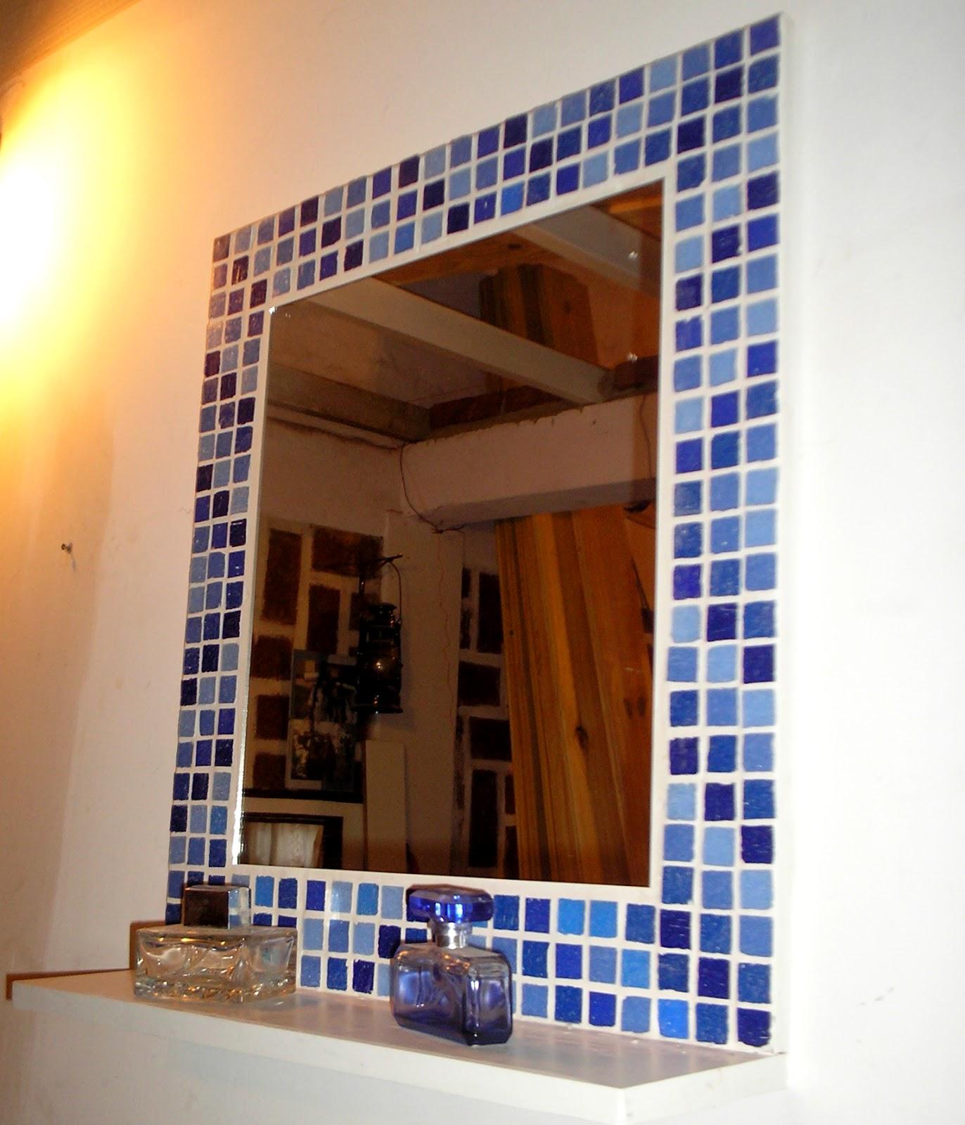 Botiquines Para Baño Color Wengue:14- Espejos con venecitas, VERDE, AMARILLO Y ROJO 50 x 55 cm 3