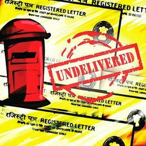 how to send letter to a registered post address