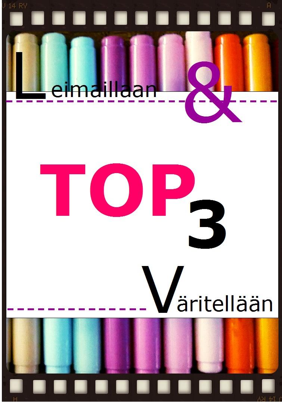 Leimaillaan ja väritellään top3