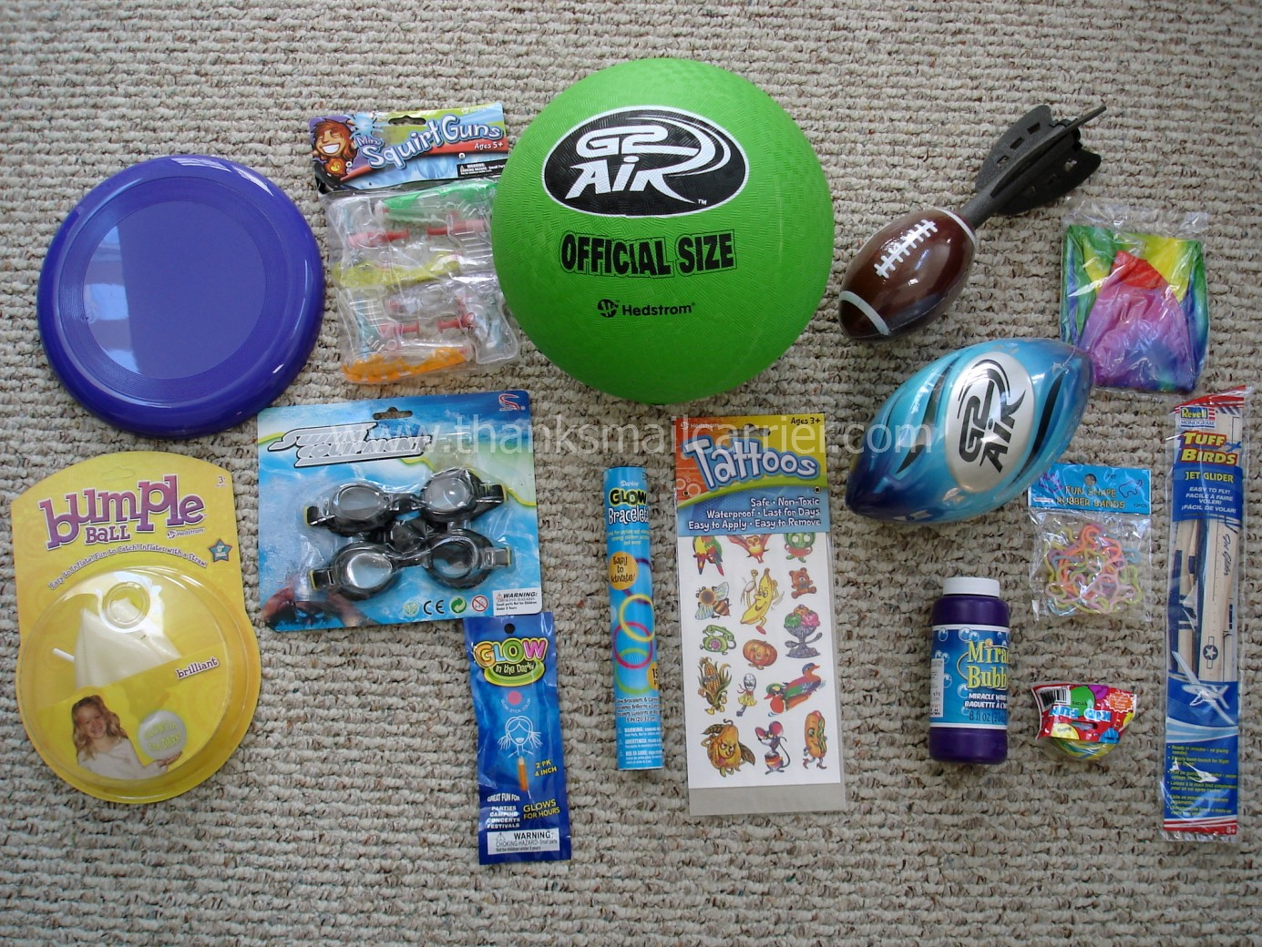 thanks, mail carrier | gourmetgiftbaskets deluxe summer fun camp