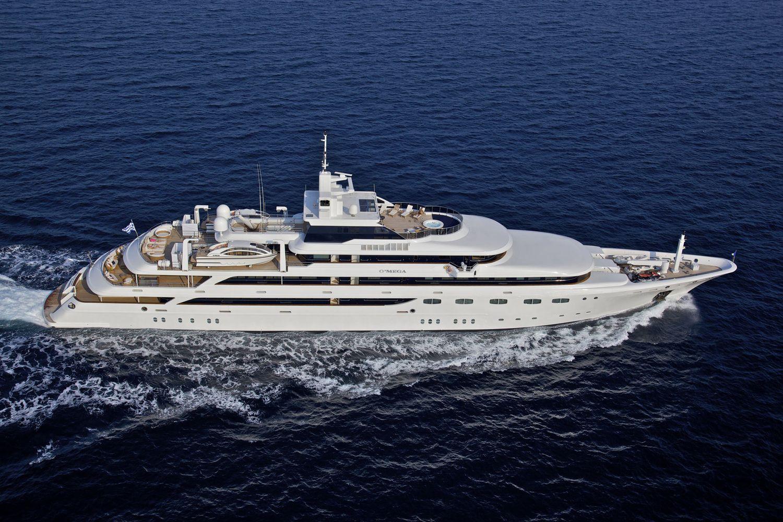 Superyacht O'MEGA Starboard