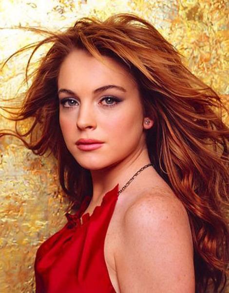 lindsay lohan hair extensions. hair Lindsay Lohan hair