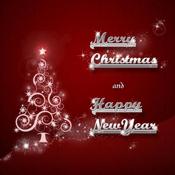 Lettera Di Auguri Di Natale In Inglese.Auguri Di Buon Natale E Buon Anno 2018 Disegni Di Natale 2019