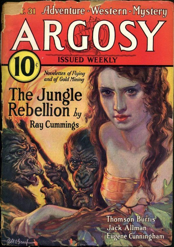 Argosy Weekly April 8, 1933 Edgar Rice Burroughs