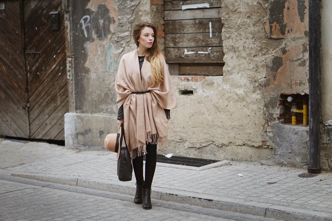 PONCHO - jesienna alternatywa dla płaszcza
