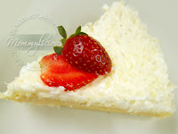 Steamed Cheddar Cheese Cake