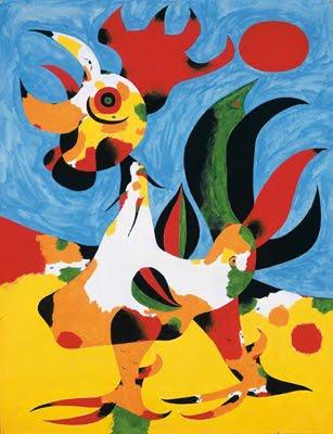 Il gallo di Mirò
