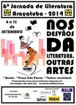 Programação da 6.ª Jornada de Literatura