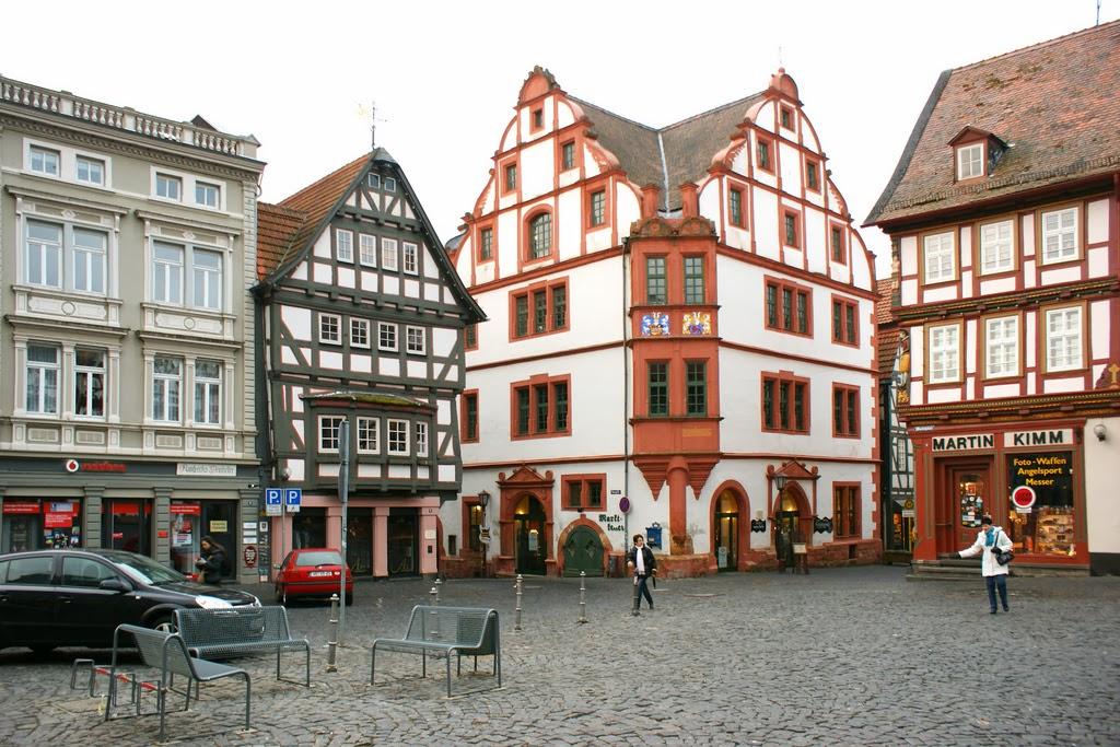 Plaza del Mercado, Alsfeld.