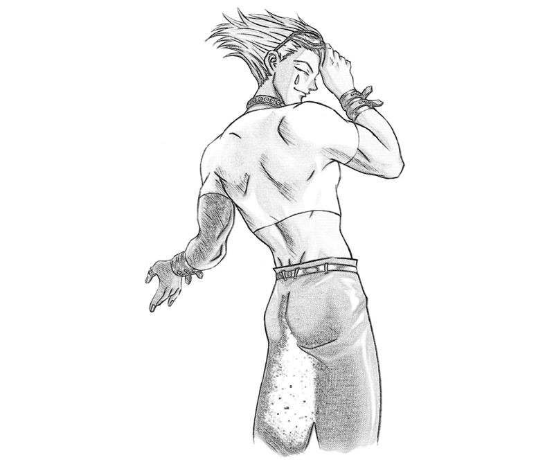 hisoka-look-coloring-pages