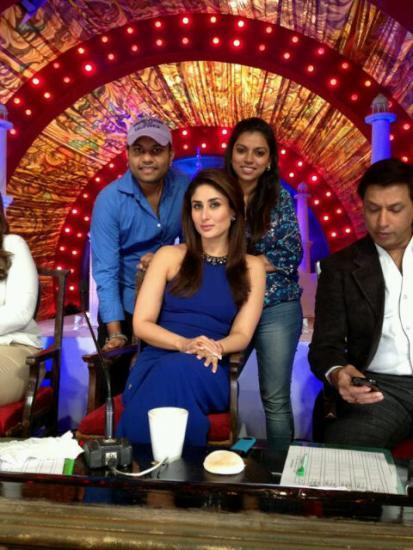 Kareena Kapoor On The Sets Of Comedy Circus