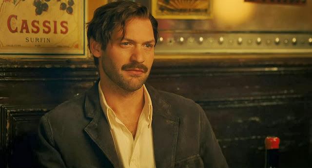 Pariste Gece Yarısı filmi, Ernest Hemingway sahnesi