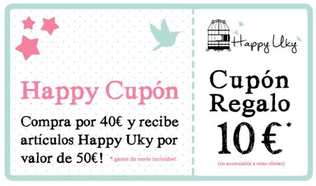 Happy Uky Cupon regalo pendientes pulseras collares
