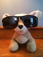 J.K. Growlings in sunglasses.