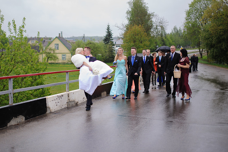 wedding tradition in lithuania