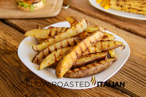 Seasoned Grilled Fries
